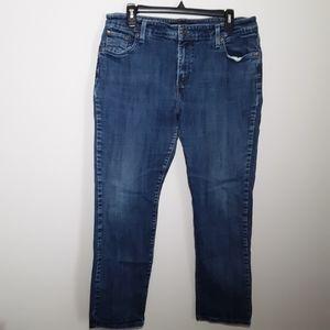 Levi's mid rise skinny 6 pocket jeans
